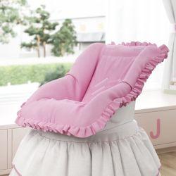 Capa de Bebê Conforto Alice Rosa