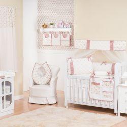 Quarto de Bebê sem Cama Babá Amarilys Rosé