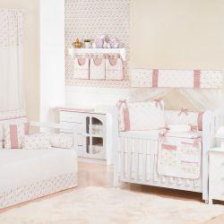 Quarto de Bebê Amarilys Rosé