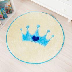 Tapete Coroa Azul 70 cm