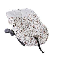 Capa de Bebê Conforto Pérola Floral