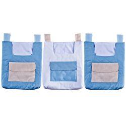 Porta Fraldas Varão Bambini Azul