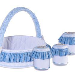 Jogo de Potes Bambini Azul