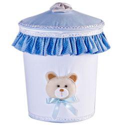 Lixeira Bambini Azul