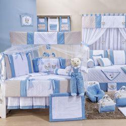 Quarto de Bebê Bambini Azul