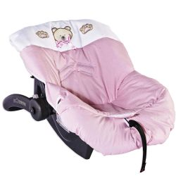 Capa de Bebê Conforto Bambini Rosa