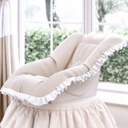Capa de Bebê Conforto Anjo Bege