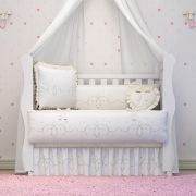 Varal Decorativo Alice Bege 1,30m