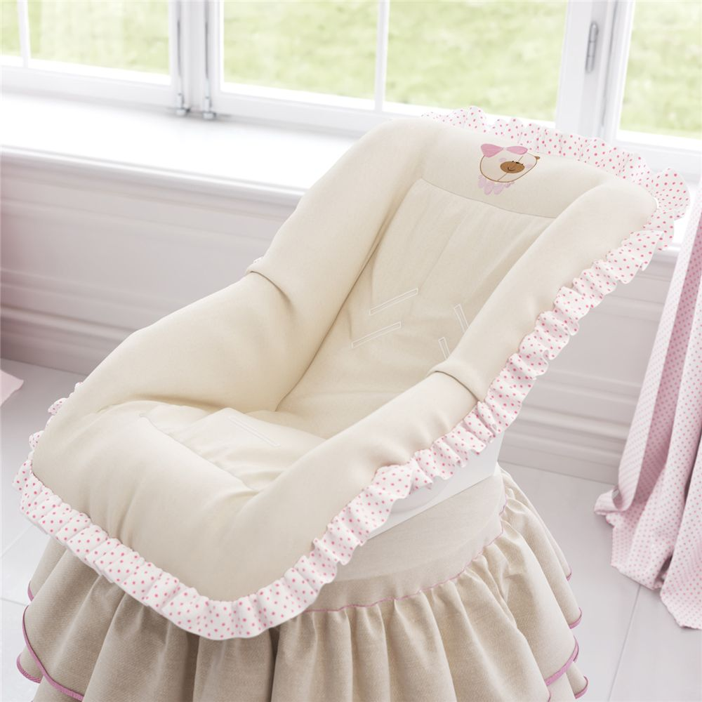Capa de Bebê Conforto Nina Luxuosa Grão de Gente