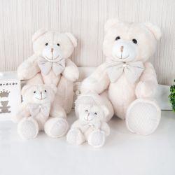 Família Ursos Xadrez Bege