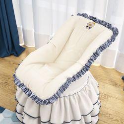 Capa de Bebê Conforto Reizinho da Floresta Azul Marinho