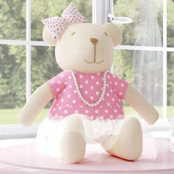 Ursa Clássica Nina Luxuosa 30cm
