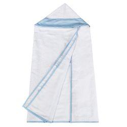 Toalha Dupla com Capuz Azul