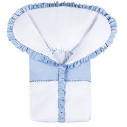 Porta Bebê Basic Azul