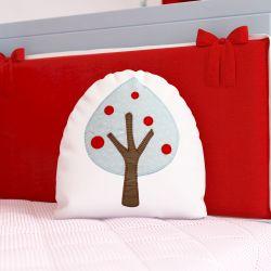 Almofada Árvore Chapeuzinho Vermelho