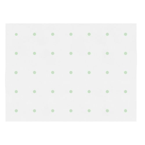 Tapete Bolinhas Verde 1,80m