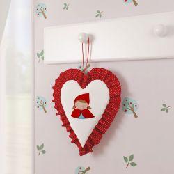 Porta Maternidade Chapeuzinho Vermelho