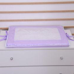 Trocador de Fraldas Plastificado de Espuma Lilás