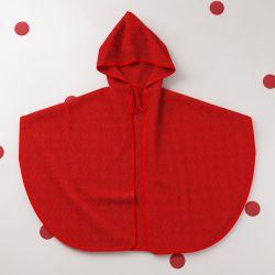 Toalha com Capuz Chapeuzinho Vermelho