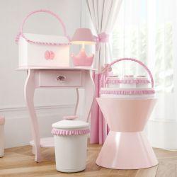 Kit Higiene Ursinha Clássica Rosa