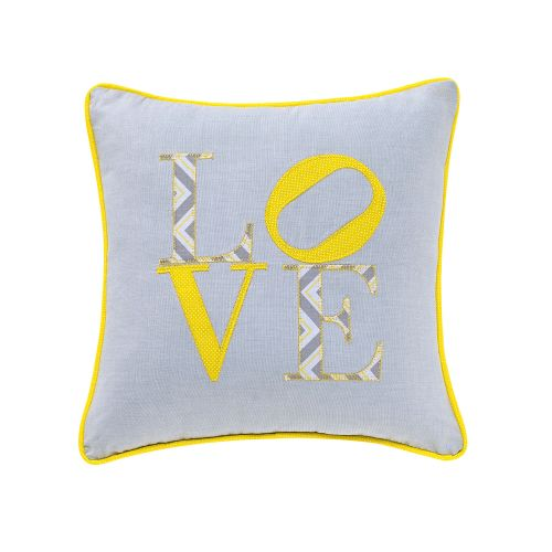 Almofada Love Amarela