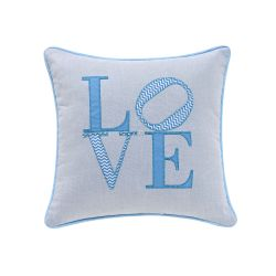 Almofada Love Azul 32cm