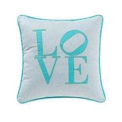 Almofada Love Azul Tiffany 32cm