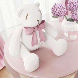 Ursa Ursinha Clássica Rosa 25cm