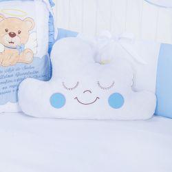 Almofada Nuvem Urso Anjinho Azul