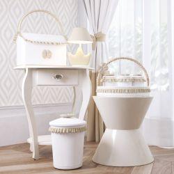 Kit Higiene Ursinho Clássico Palha