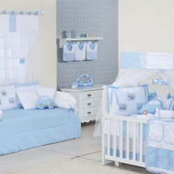 Quarto de Bebê Carros Azul