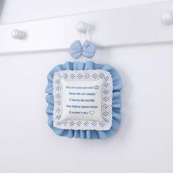 Porta Maternidade Ursinho Clássico Azul Bebê