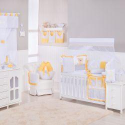 Quarto de Bebê Urso Anjinho Amarelo