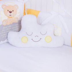 Almofada Nuvem Urso Anjinho Amarelo