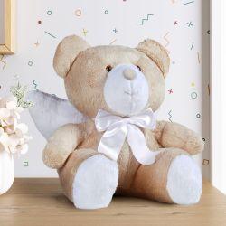Urso de Pelúcia Anjo com Laço Cetim 46cm