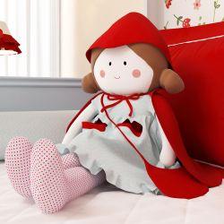Boneca de Pano Carinho Porta Fraldas Chapeuzinho Vermelho