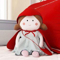 Boneca de Pano Carinho Chapeuzinho Vermelho