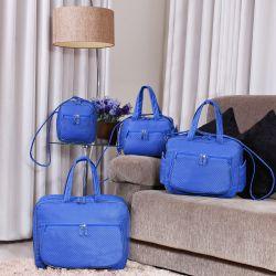 Conjunto de Bolsas Maternidade Paraty Azul