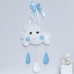Porta Maternidade Pedacinho do Céu Azul