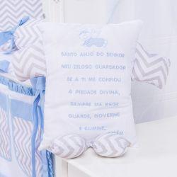 Naninha Elefante Chevron Azul