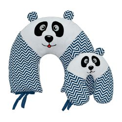 Almofadas Amamentação e Pescoço Para Bebê Panda 2 Peças