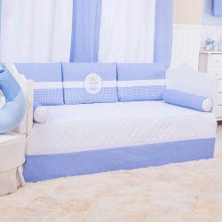 Kit Cama Babá Anjinho Azul