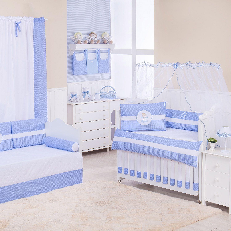 Quarto de Bebê Anjinho Azul