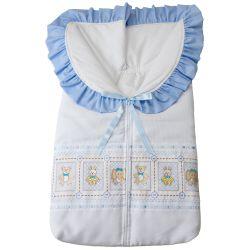 Porta Bebê Meus Bichinhos Baby Azul
