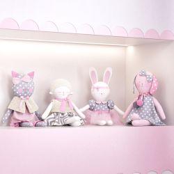 Bonecas de Pano Mimo Amiguinhas