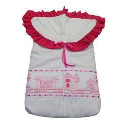 Porta Bebê Minha Casinha Pink