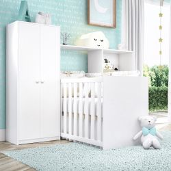 Quarto de Bebê Bianco 3 em 1