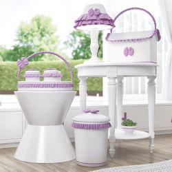 Kit Higiene Alice Lilás
