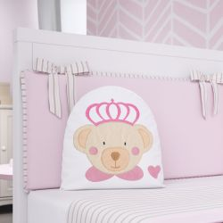 Almofada Ursa Princesa 28cm
