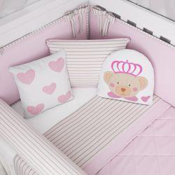 Almofadas Ursa Princesa 3 Peças